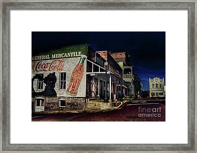 General Mercantile Framed Print