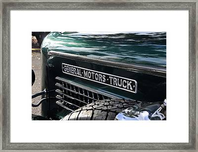 General Motors Truck Framed Print by David Lee Thompson