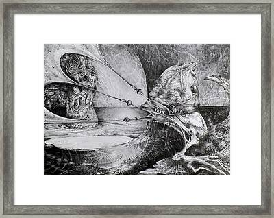 General Peckerwood In Purgatory Framed Print by Otto Rapp