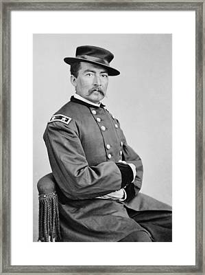 General Philip Sheridan - Union Civil War Framed Print by War Is Hell Store