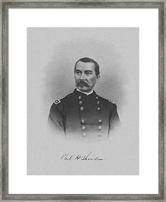 General Philip Sheridan Framed Print by War Is Hell Store