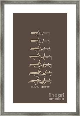 General Purpose Silhouettehistory Framed Print by Balazs Iker