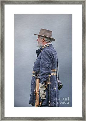 General Robert E Lee  Framed Print by Randy Steele