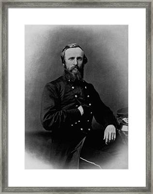 General Rutherford B. Hayes - Civil War Framed Print