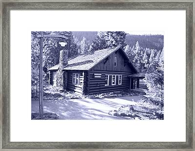 General Store Framed Print by Larry Keahey