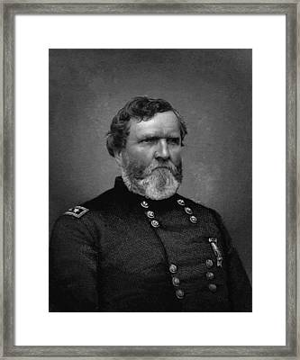 General Thomas Framed Print by War Is Hell Store