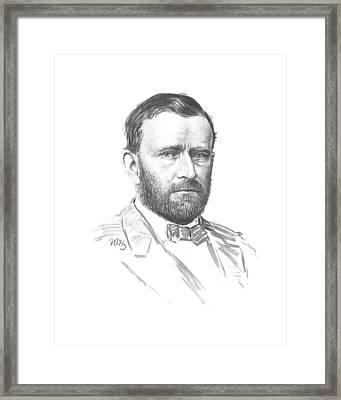 General Ulysses Grant Framed Print