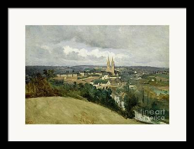 Saint-lo Framed Prints