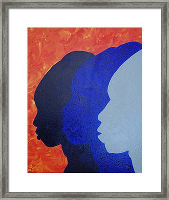 Generation Framed Print by Kayon Cox
