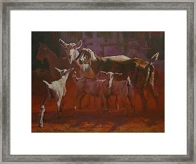 Generations Framed Print by Mia DeLode