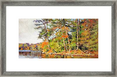 Generations Shore Framed Print by Larry Seiler