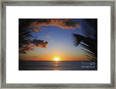 Generic Sunset Framed Print by Brandon Tabiolo - Printscapes