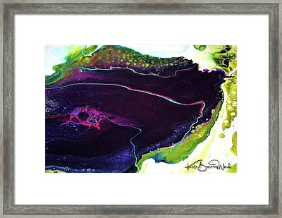 Framed Print featuring the painting Genesis 2 by Kate Word