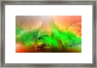 Genesis Framed Print by Dan Turner