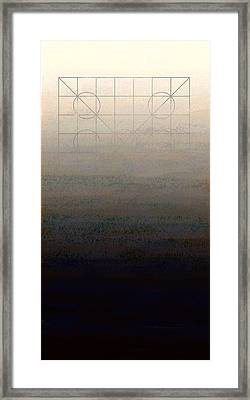 Genesis Day Seven   Rest Framed Print by Francois Domain