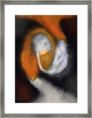 Genesis Of The Elder God Framed Print by Randhir Rawatlal