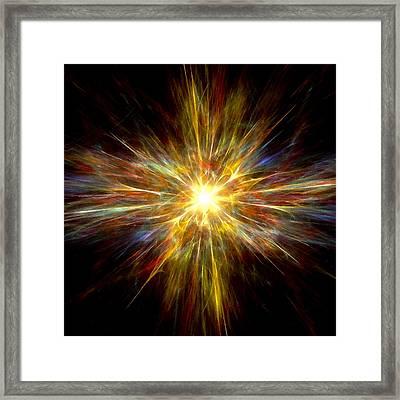 Genesis Framed Print by Steve K