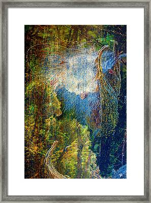 Framed Print featuring the digital art Genesis by Tom Romeo