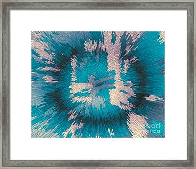Genetic Modification Flower Framed Print