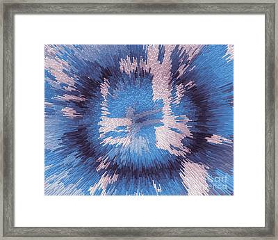 Genetic Engineering Flower Framed Print