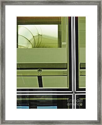 Geneva Airport 2 Framed Print by Sarah Loft