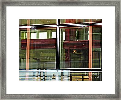 Geneva Airport 4 Framed Print by Sarah Loft