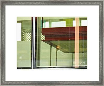 Geneva Airport 5 Framed Print by Sarah Loft