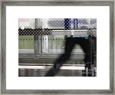 Geneva Airport 8 Framed Print by Sarah Loft
