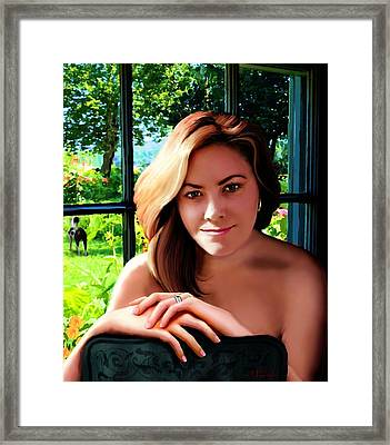 Geneva In The Morning Framed Print by Jann Paxton