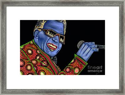 Genius Framed Print by Nannette Harris