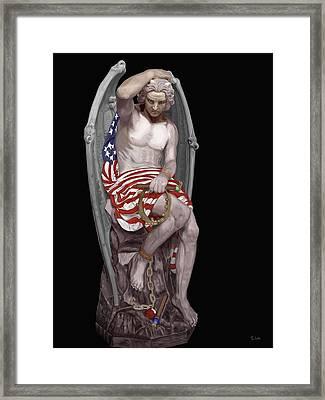 Genius Of Evil Framed Print