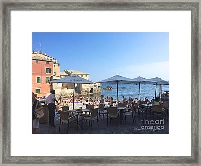 Genova, Boccadasse Framed Print
