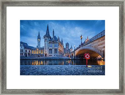 Gent Framed Print by JR Photography