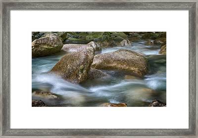 Gentile Waters Framed Print
