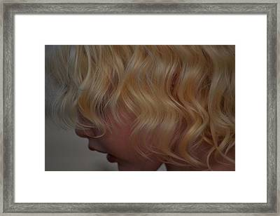 Gentle Beauty Framed Print by Laura Leigh McCall