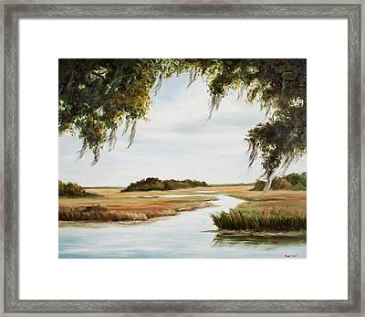 Gentle Breeze Framed Print