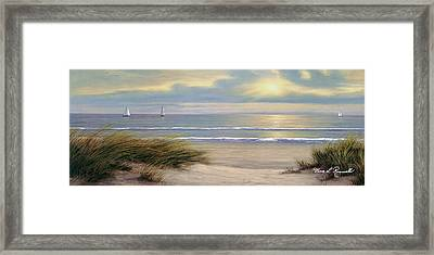 Gentle Breeze Panoramic Framed Print