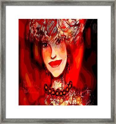 Gentle Heart Framed Print by Natalie Holland