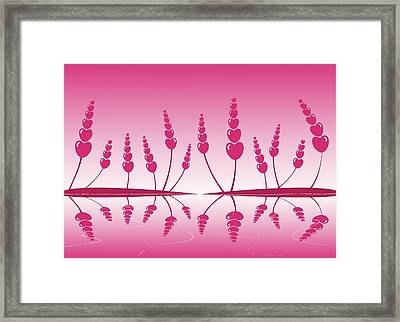 Gentle Hearts Framed Print by Anastasiya Malakhova