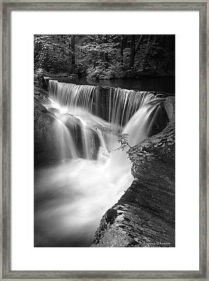 Framed Print featuring the photograph Gentle Process by Expressive Landscapes Fine Art Photography by Thom