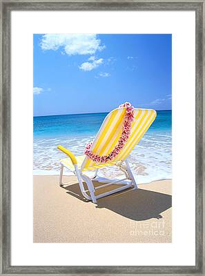 Gentle Shore Waters Framed Print by Bill Brennan - Printscapes