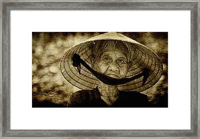 Gentle Soul Framed Print