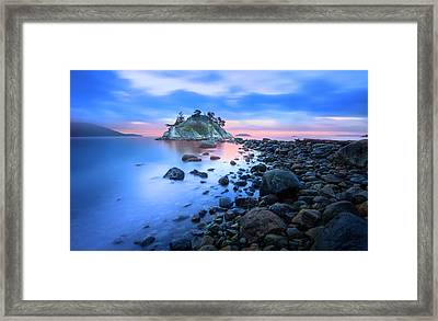 Framed Print featuring the photograph Gentle Sunrise by John Poon