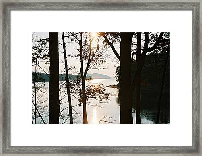 Framed Print featuring the photograph Gentle Touch by Kicking Bear  Productions
