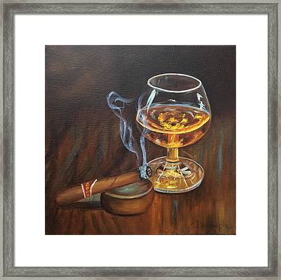 Gentleman's Delight  Framed Print
