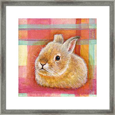Framed Print featuring the painting Gentleness by Retta Stephenson