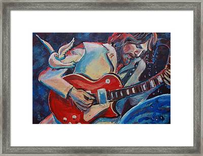 'gently Weeps' Framed Print by Shannon Lee