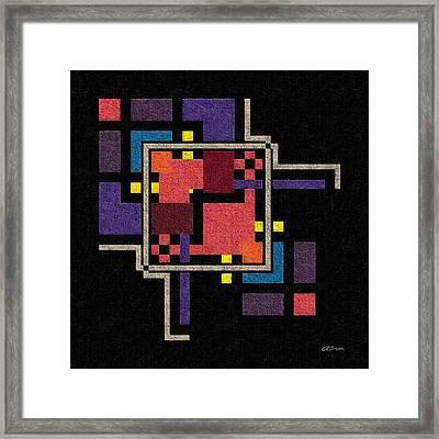 Geo 3 Framed Print