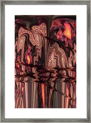Geodes Framed Print