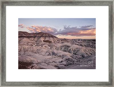 Geology Lesson Framed Print by Melany Sarafis